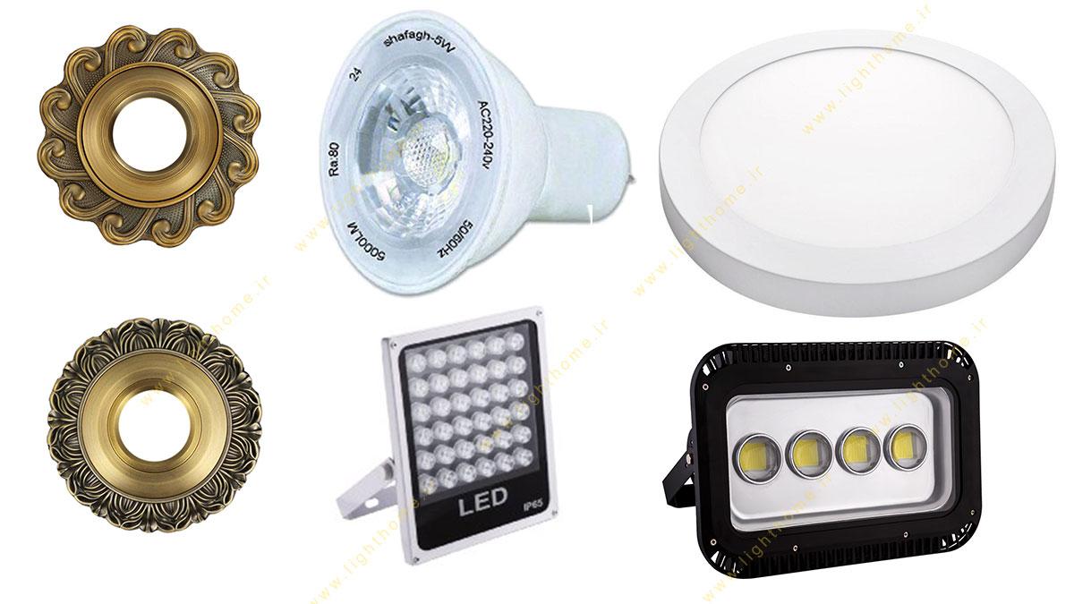 تنوع محصولات آنی نور گستر شفق
