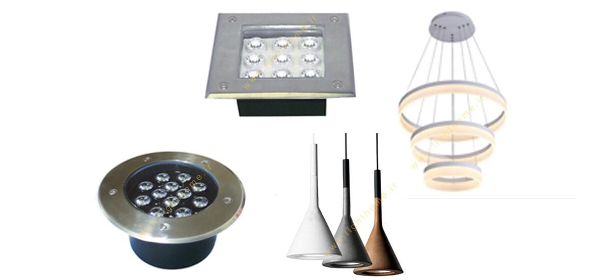 محصولات روشنایی تکساز