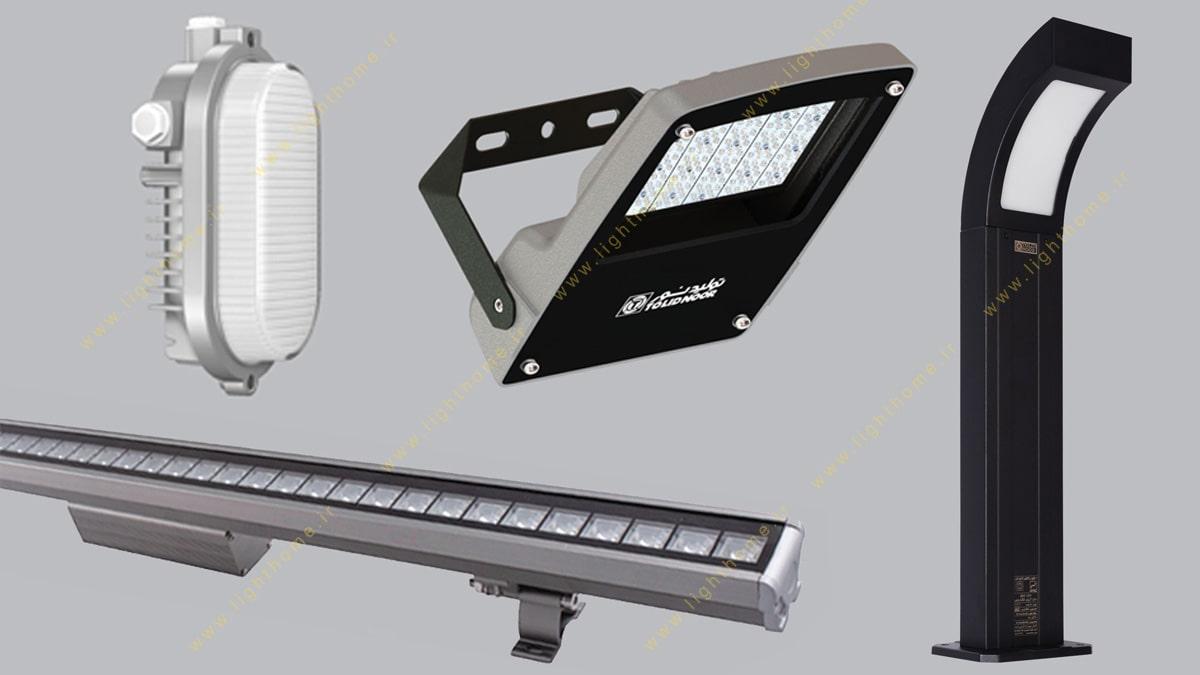محصولات محوطه خارجی تولید نور