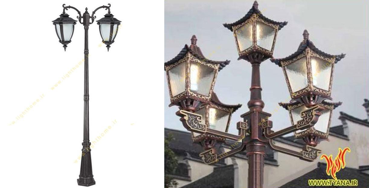چراغ های حیاطی و پارکی تیانا