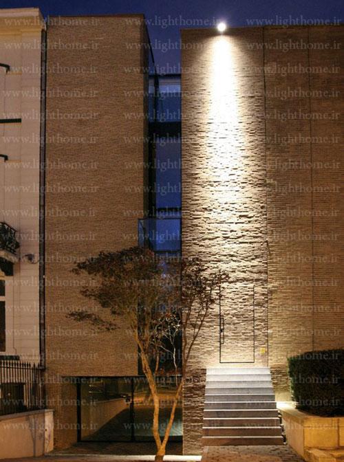 اصول نورپردازی نمای ساختمان - نورپردازی نما