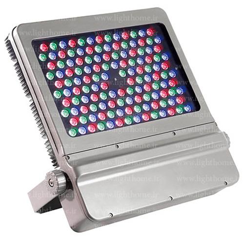 پروژکتور RGB نورپردازی نمای ساختمان - نورپردازی نمای ساختمان با پروژکتور دست ساز- پروژکتور ال ای دی RGB سفارشی لایت هوم