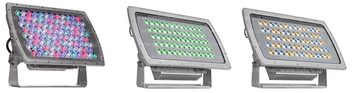 پروژکتور ال ای دی نما - پروژکتورهای ال ای دی نورپردازی نمای ساختمان