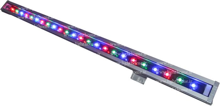 وال واشر RGB - وال واشر مولتی کالر - نورپردازی نما با وال واشر - نورپردازی نمای ساختمان