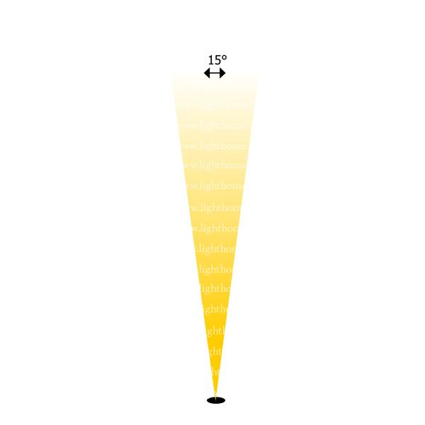 وال واشر با لنز 15 درجه - نورپردازی نما با لنز 15 درجه