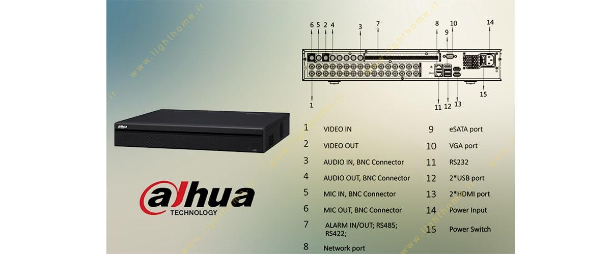 xvr داهوا 32 کانال مدل dh-xvr5432l-x