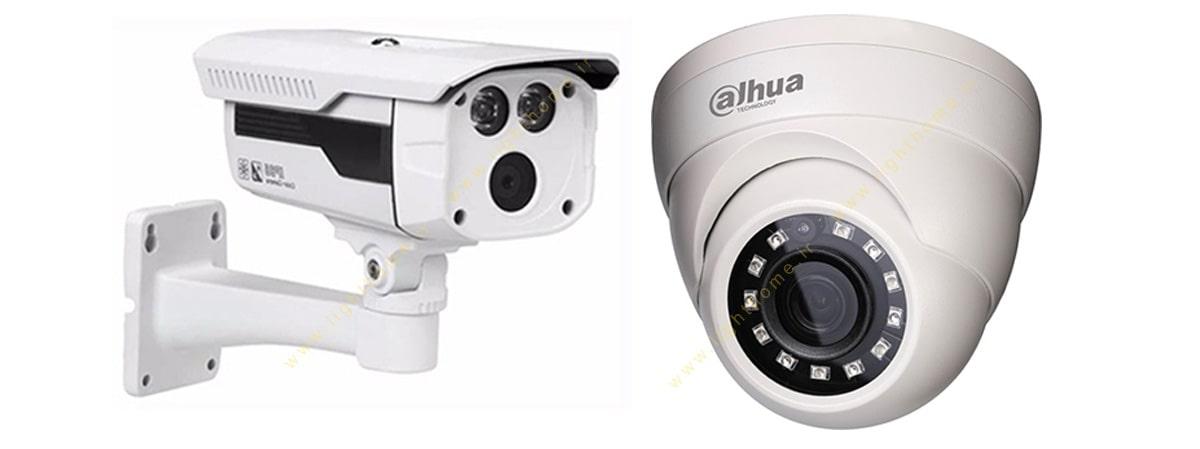 دوربین HDCVI داهوا در دو نوع بولت و دام