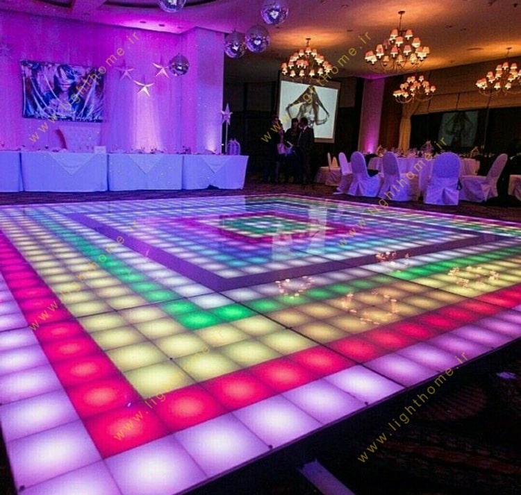 کف LED پیست رقص و استیج رقص
