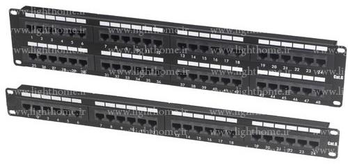 پچ پنل هومر - patch panel هومر - پچپنل homer