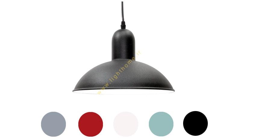 چراغ آویز سرپیچ دار هاتو مدل دکوراتیو 28 رنگی