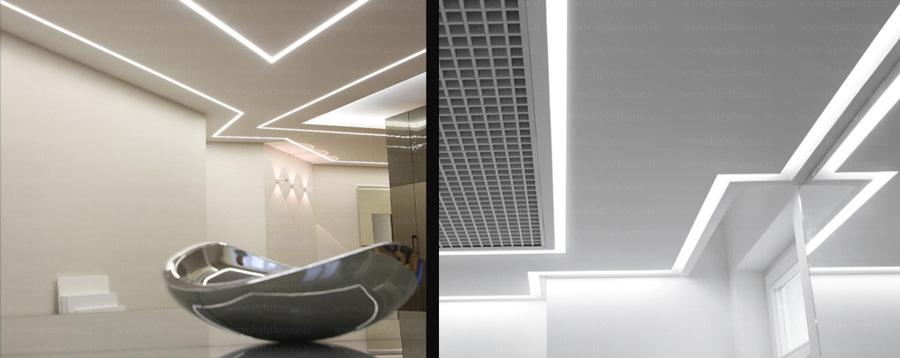 چراغ خطی ال ای دی - چراغ های لاین - چراغ های خطی