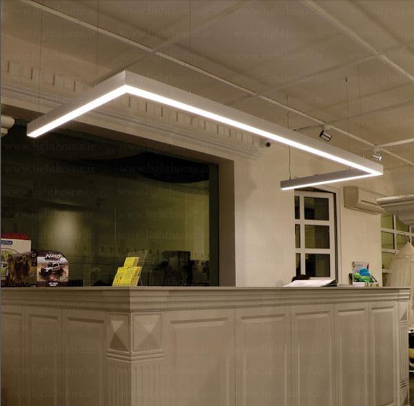 چراغ خطی ال ای دی آویز - چراغ های خطی آویز