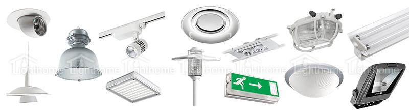چراغ های اداری و تجاری مازی نور