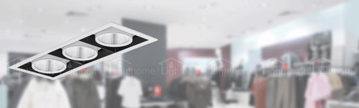 چراغ های فروشگاهی مازی نور