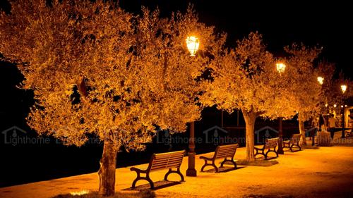 چراغ های باغی و پارکی