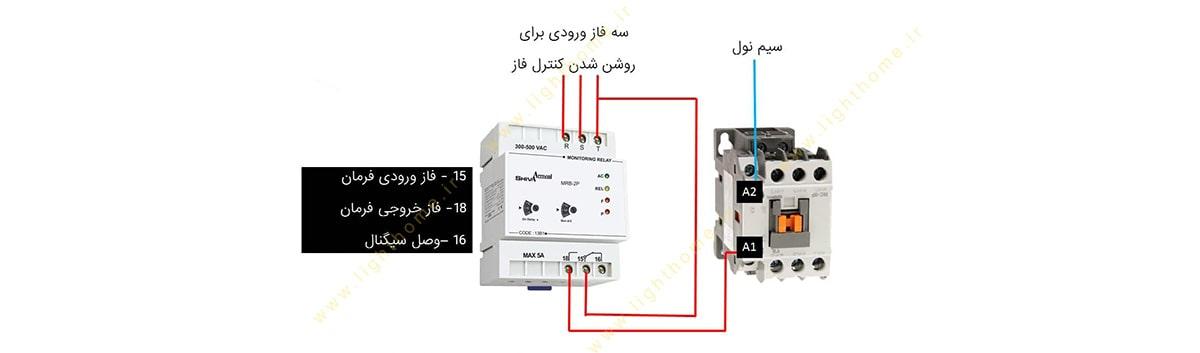 نصب و اجزای دستگاه کنترل فاز
