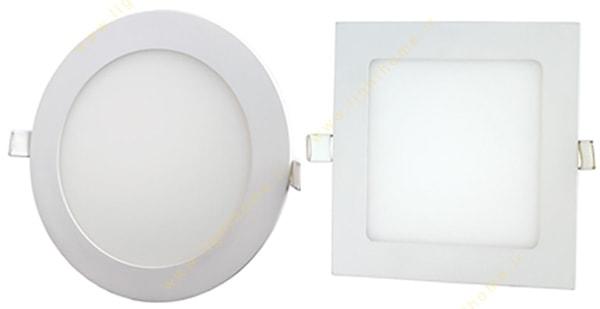 چراغ SMD سرامیکی توکار زاک گرد و مربع