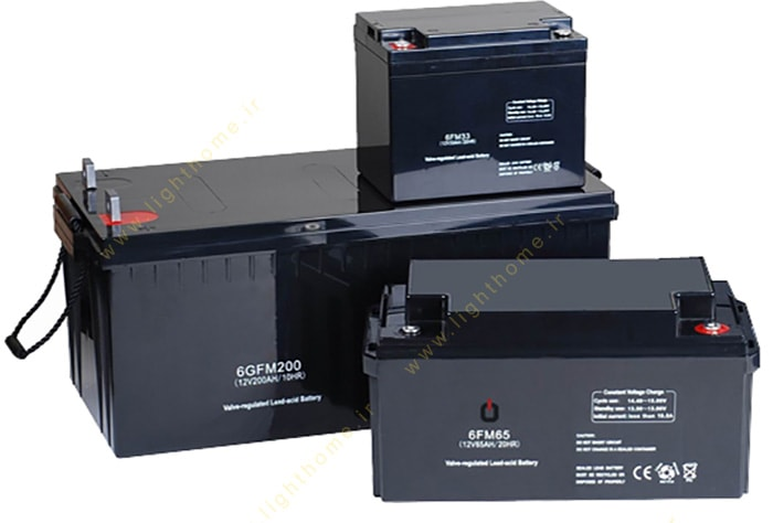باتری خورشیدی پکیج برق خورشیدی