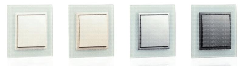 کلید و پریز کریستال ایفاپل - کلید و پریز efapel با قاب کریستالی