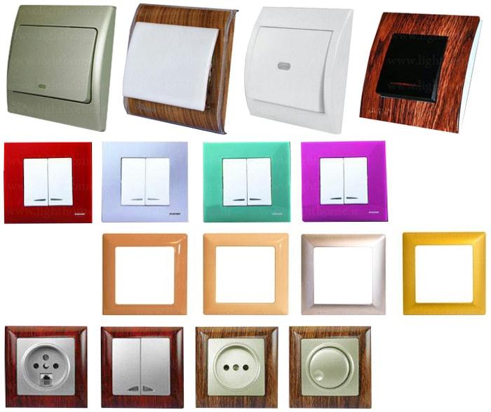 کلید و پریز خیام الکتریک - مدل های مختلف کلید پریز خیام الکتریک - کلیدوپریز خیام