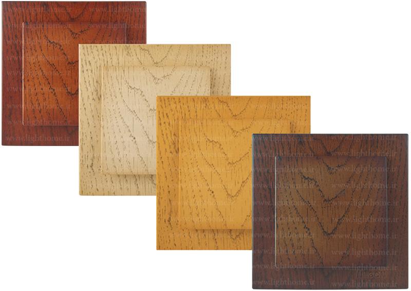 کلید و پریز نیلسون مدل touran طرح چوب - کلید و پریز نیلسون مدل توران طرح چوب