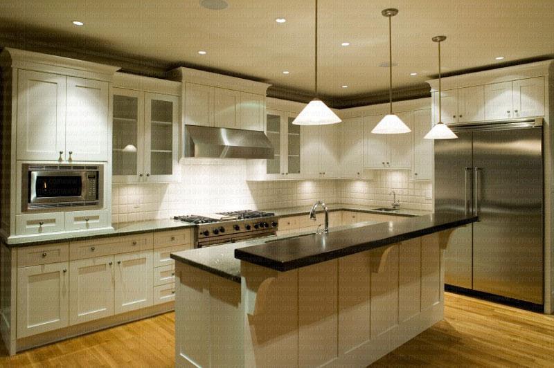 چراغ زیر کابینتی - نورپردازی آشپزخانه و کابینت