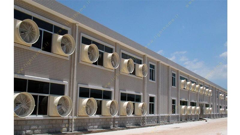 هواکش صنعتی و کارگاهی