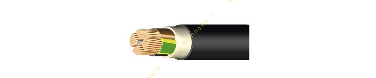 کابل کات کابل تک و چند رشته با عایق و روکش PVC نوعNYY ،NYY-O ، NYY-J