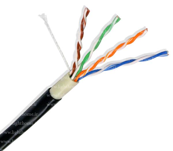 کابل شبکه Cat5e - کابل شبکه CAT5e