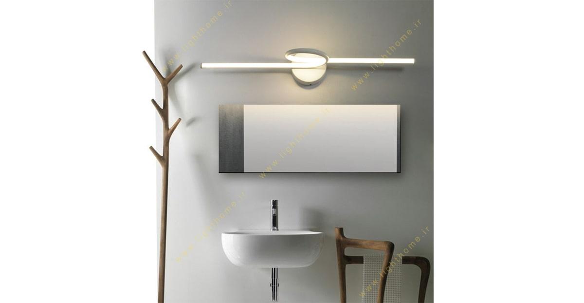 چراغ بالا آینه خلاقانه