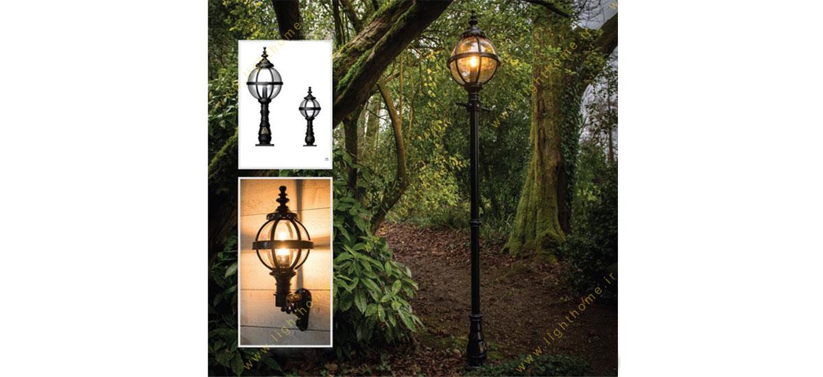 انواع چراغ های حیاطی و پارکی