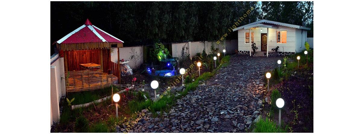 چراغ تزئینی باغچه ای