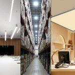 انتخاب چراغ و محاسبه تعداد آن در طراحی نورپردازی یک شرکت اداری