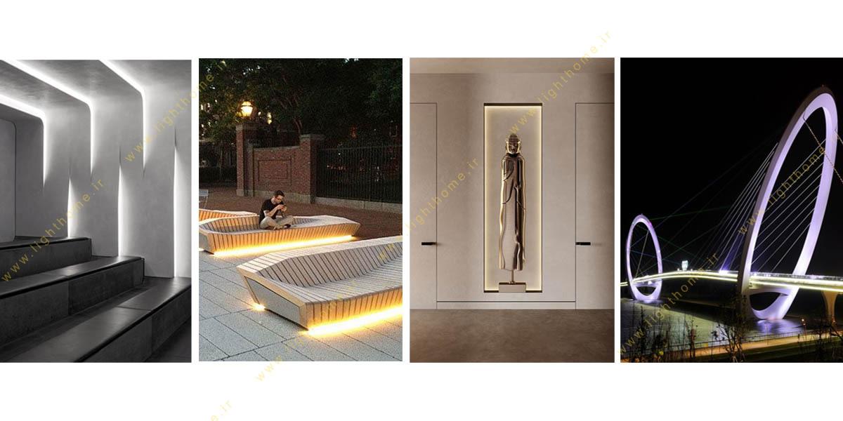 طراحی و نورپردازی محیطی