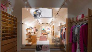 نورپردازی ویترین فروشگاه