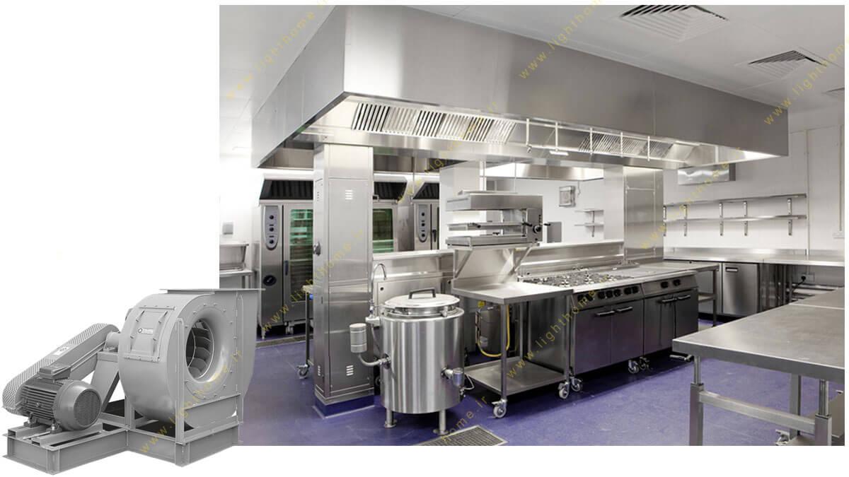 فن صنعتی آشپزخانه